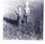 Mari and his brother Rene in Cuba